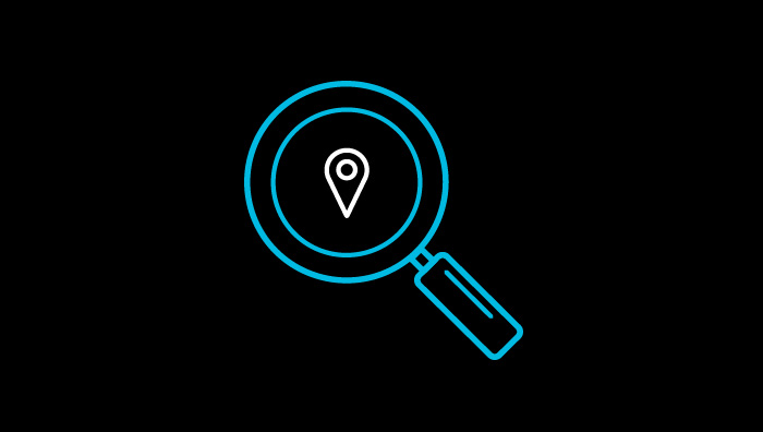 Map search icon