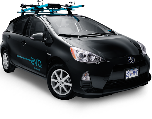 Sign up for Evo Car Share to join the car sharing evolution